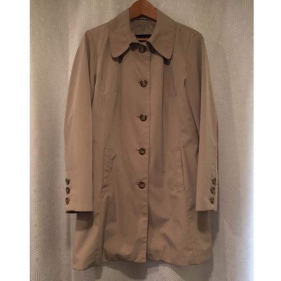 Braetan Jackets & Blazers - BRAETAN | Classic Khaki Tan Long Trench Coat